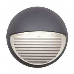 Ansell External Wall Lights : Ansell Kappa LED Silver Grey Wall Light at UK Electrical Supplies.