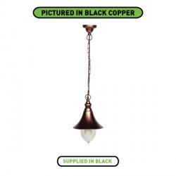 Ansell Lampara Black Hanging Lantern