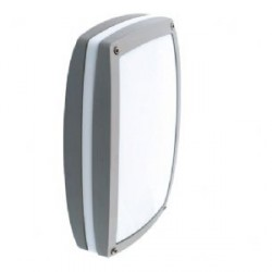 Ansell Link Silver Grey Wall Light