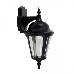 Ansell Latina Black Wall Lantern