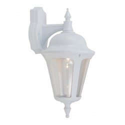 Ansell Latina White Wall Lantern