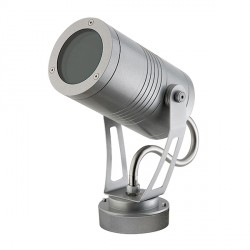 Ansell Lyra 12W LED Projector Silver (40 DB)