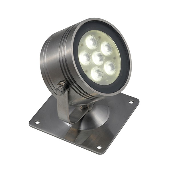 An Ip68 Meteor 4000k Led Surface Submersible Spotlight