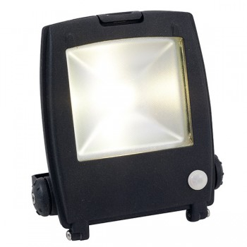 Ansell Mira 10W Cool White LED Floodlight with PIR