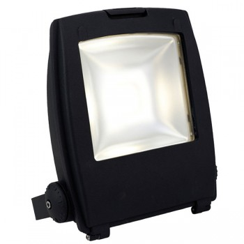 Ansell Mira 50W Cool White LED Floodlight with Photocell