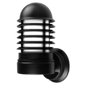 Ansell External Wall Lights : Ansell Monza 18W PL HF Wall Light Black at UK Electrical Supplies.