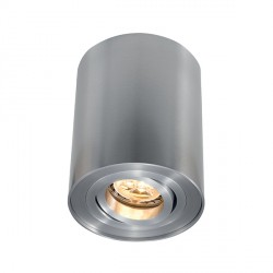 Ansell Novara Surface 50W Adjustable GU10 Satin Chrome Downlight