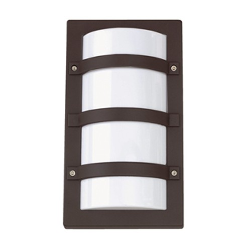 Ansell Quad CFL Black Wall Light at UK Electrical Supplies.