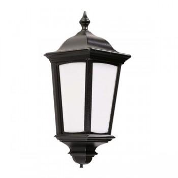 Ansell Roma Black Half Lantern with PIR