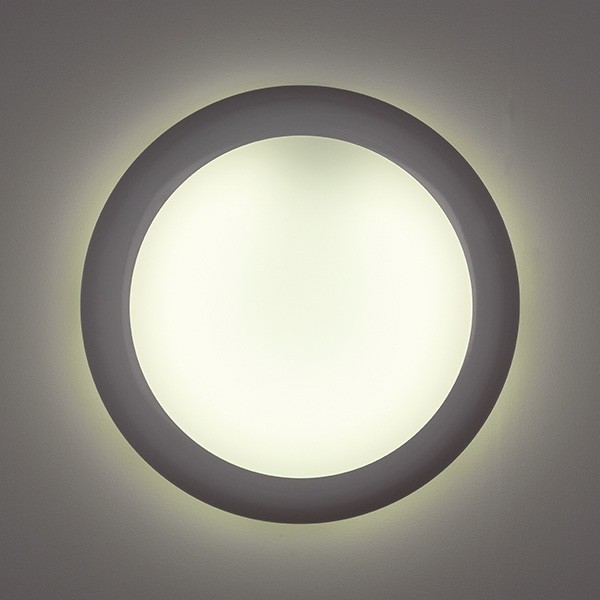 Ansell Sirius Halo 28W Wall/Ceiling Light at UK Electrical Supplies.