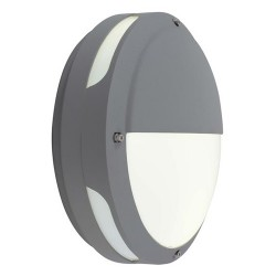 Ansell Tardo LED Silver Grey Wall Light with Emergency Battery Backup