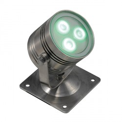 Ansell IP68 Trio LED RGB 350mA Surface/Submersible Spotlight