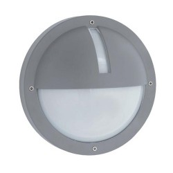 Ansell Uno LED Silver Grey Wall Light