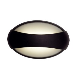 Ansell Vela LED Black Wall Light