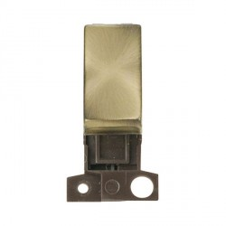 Click 10AX Intermediate Ingot Switch Module in Antique Brass