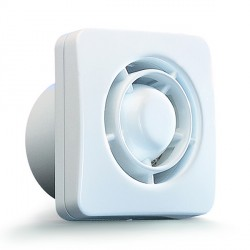 Silavent H1R Retail pack, Timer and Humidistat 100mm compact axial fans