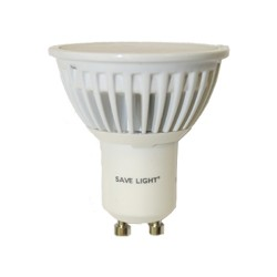 Save Light Luminox Economy GU10 5 Watt Non-Dimmable LED Warm White