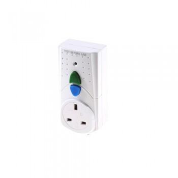 SMJ Electrical RCDAWC Plug In RCD Adaptor