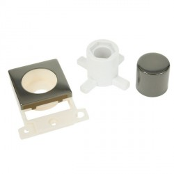 Click Minigrid MD150BN Black Nickel Dimmer Module Mounting Kit