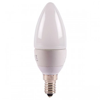 Bell Lighting 4W Warm White Non-Dimmable E14 Opal LED Candle Bulb