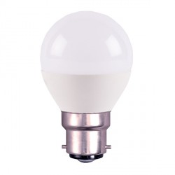 Bell Lighting 4W Warm White Non-Dimmable B22 Opal LED Golf Ball Bulb