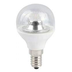 Bell Lighting 4W Warm White Dimmable E14 Clear LED Golf Ball Bulb