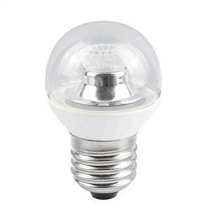 Bell Lighting 4W Warm White Dimmable E27 Clear LED Golf Ball Bulb
