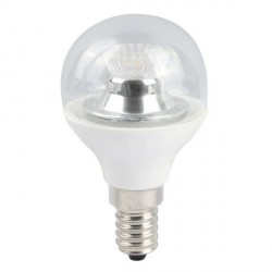 Bell Lighting 4W Cool White Dimmable E14 Clear LED Golf Ball Bulb