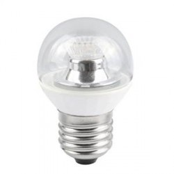 Bell Lighting 4W Cool White Dimmable E27 Clear LED Golf Ball Bulb