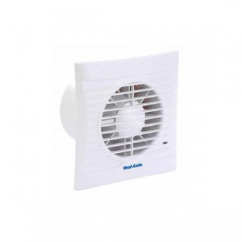 Vent-Axia 439975 Silhouette 100SVT SELV Extractor Fan with Timer