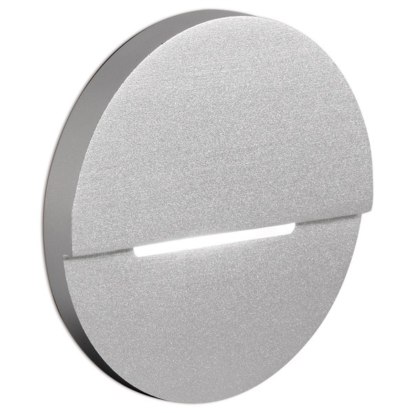 Aurora Lighting AU-STL593SS 240V Aluminium IP66 LED Recessed Wall Light at UK Electrical Supplies.