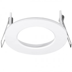 Aurora Lighting AU-BZ110W Aluminium Fixed 110mm LED Downlight Bezel Accessory
