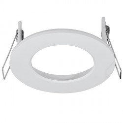 Aurora Lighting AU-BZ110MW Aluminium Fixed 110mm LED Downlight Bezel Accessory