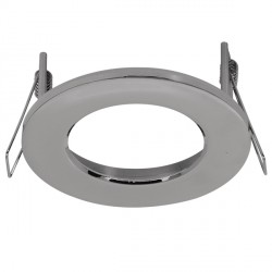 Aurora Lighting AU-BZ110PC Aluminium Fixed 110mm LED Downlight Bezel Accessory