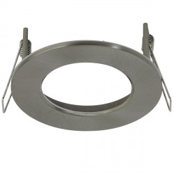 Aurora Lighting AU-BZ110SN Aluminium Fixed 110mm LED Downlight Bezel Accessory