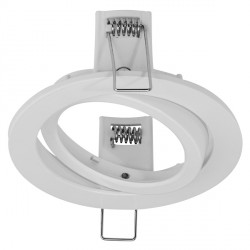 Aurora Lighting AU-BZ111W Aluminium Adjustable 115mm LED Downlight Bezel Accessory