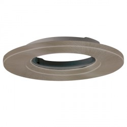 Aurora Lighting AU-BZ803SN IP65 89mm Universal Aluminium Downlight Bezel Accessory in Satin Nickel