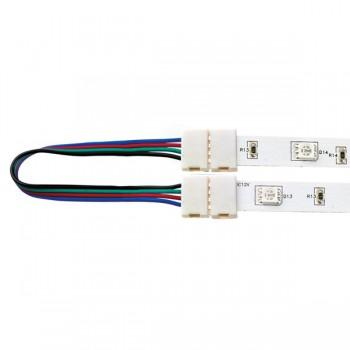 Aurora Lighting AU-STRGBC Flexible Inter-Connection Lead RGB LED Strip Light