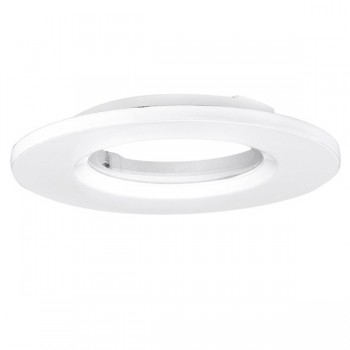 Aurora Lighting AU-BZ600MW Fixed 88mm Aluminium Downlight Bezel Accessory in Matt White