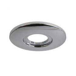 Aurora Lighting AU-AP600PC Fixed 85mm-145mm Downlight Adaptor Plate Lighting Accessory in Polished Chrome