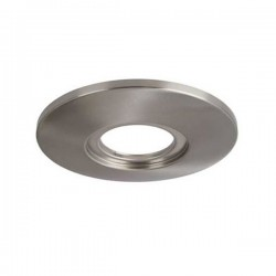 Aurora Lighting AU-AP600SN Fixed 85mm-145mm Downlight Adaptor Plate Lighting Accessory in Satin Nickel