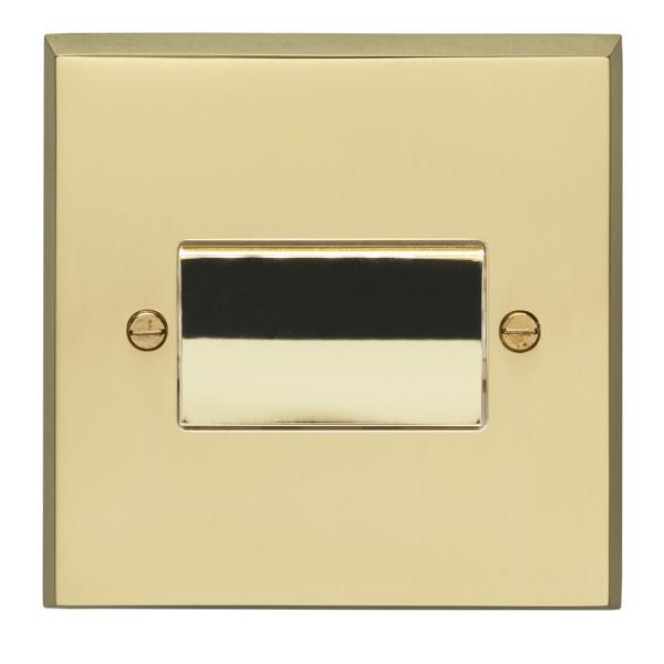 Eurolite Victorian Polished Brass 1 Gang Triple Pole Fan Isolator ...