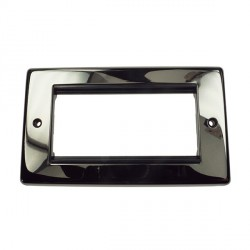 Eurolite Grid Black Nickel Black Module Frame Double Plate with Black Insert