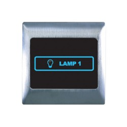 Retrotouch Metal Touch & Remote Light Switch 1 Gang