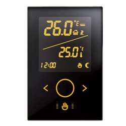 Retrotouch HV4000 Touch Thermostat 5A Black