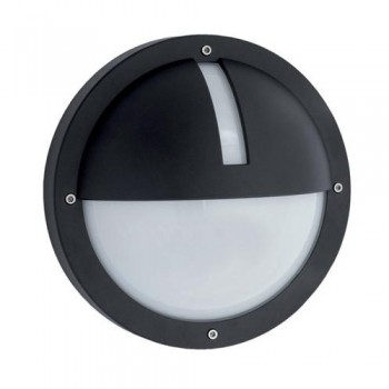 Ansell Uno LED Black Wall Light