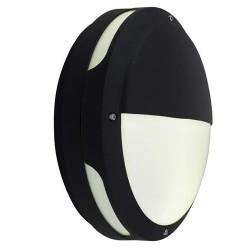Ansell Tardo LED Black Wall Light with Microwave Sensor