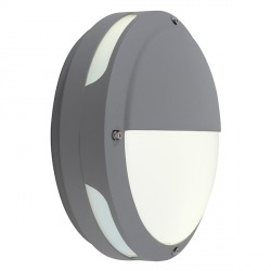 Ansell Tardo LED Silver Grey Wall Light with Microwave Sensor