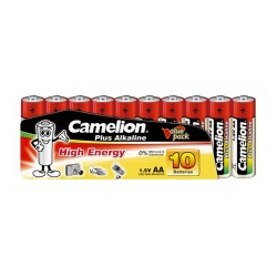 Camelion AA Batteries Pack of 10 1.5V Plus Alkaline