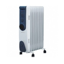 Hyco Riviera 1.5kW Oil Filled Radiator Without Timer